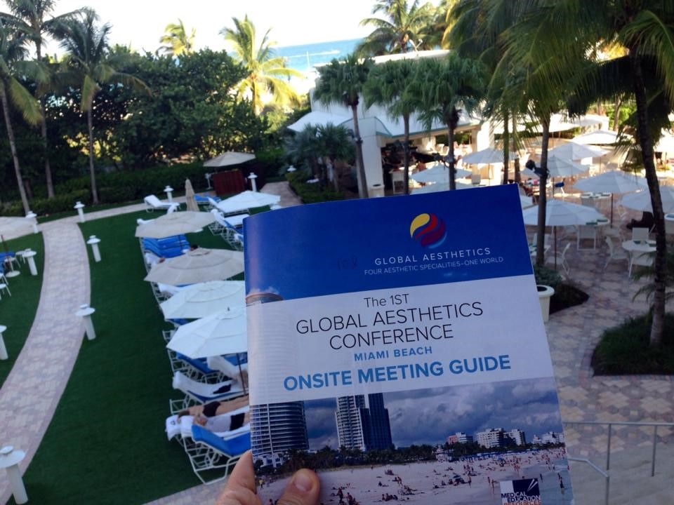 1st Global Aesthetics conference, Miami, 2015