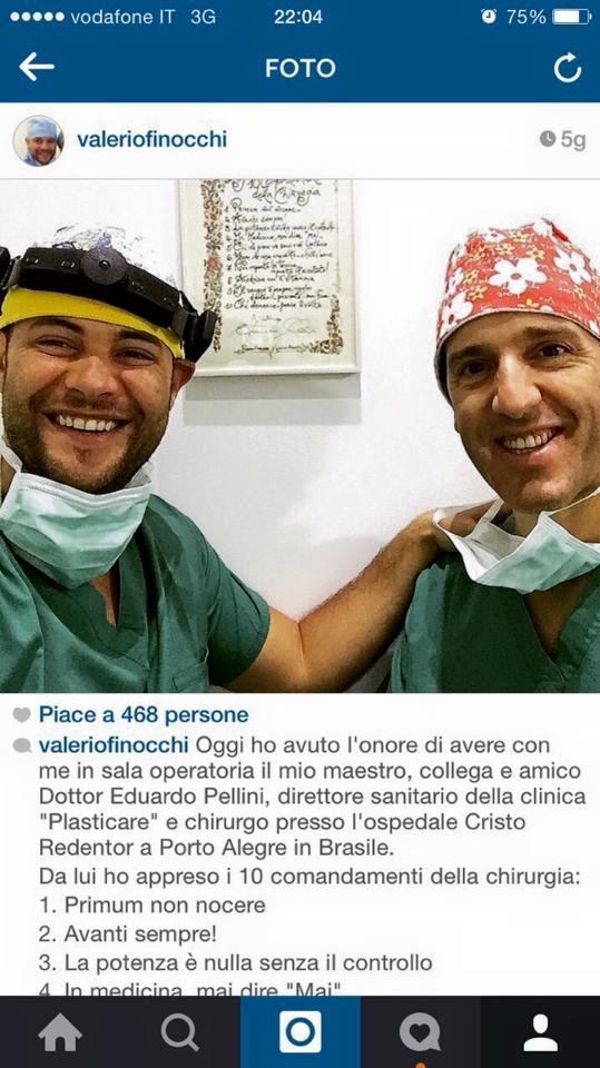 Dr Eduardo e Dr Valerio Finocci